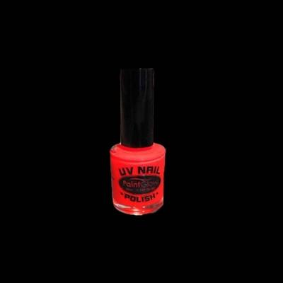 Glow in the dark nagellak - Rood 10ml