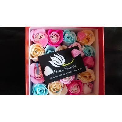 Gift Box 10  decoratie geur roosjes (diverse kleuren)