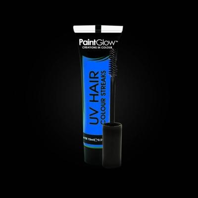 UV lichtgevende haarmascara - Neon Blauw